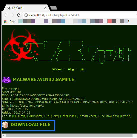 Virus Program Gratis Test
