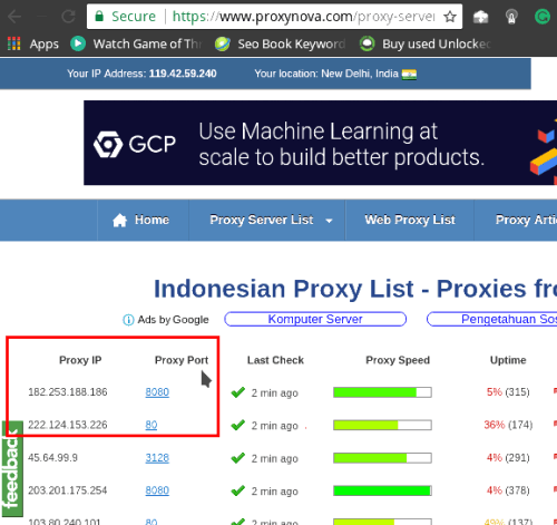 indonesia proxy