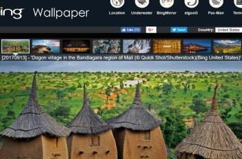 Bing Wallpaper Downloader Set Bing's Image of the Day as Wallpaper