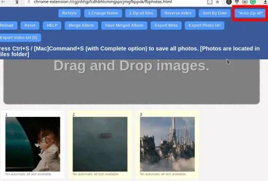 downalbum download zip of all photos