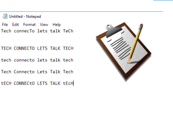 How to Paste Text from Clipboard in Upper Case, Lower Case, Title Case