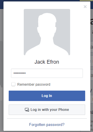 Facebook Account Switcher to Switch Between Multiple Accounts