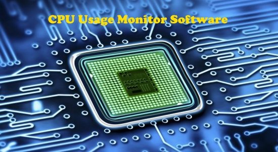 cpu usage monitor software