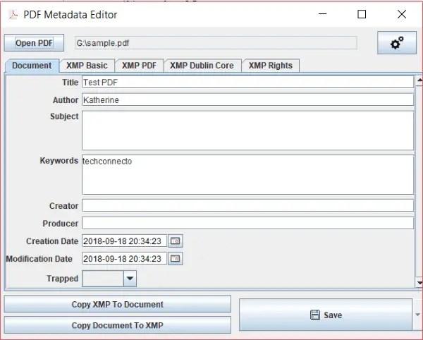 pdf metadata editor 1