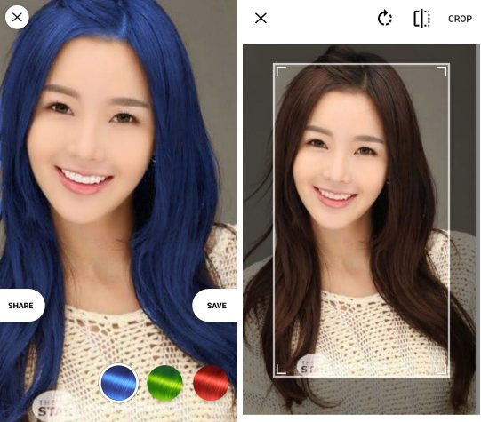5 Free Hair Color Changer App For Android