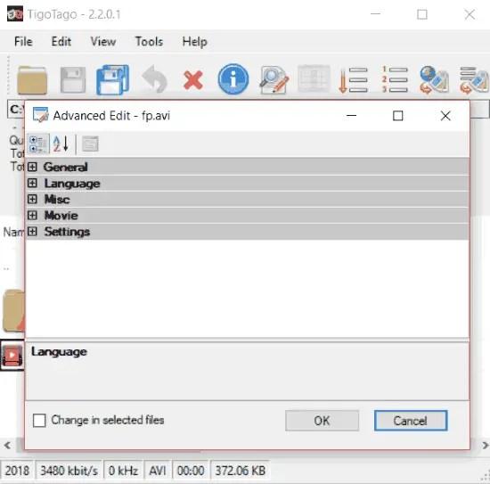 Free Video Metadata Editor For Windows