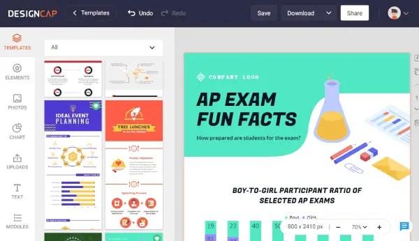 make infographics online