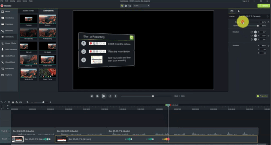 Camtasia screen recorder for windows 10