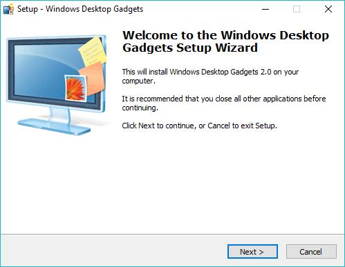 Desktop Gadgets for Windows 10