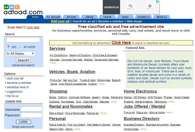 Sites like craigslist com