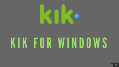 Kik For Windows PC