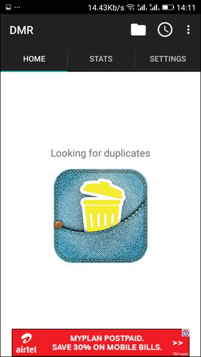 trick to delete duplicate files in android