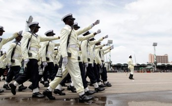 Nigerian Navy Recruitment Excercise