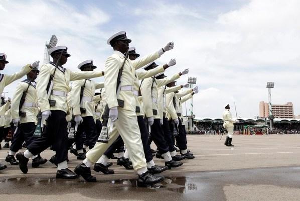 Nigerian Navy Recruitment Excercise