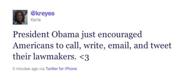 president obama calls on