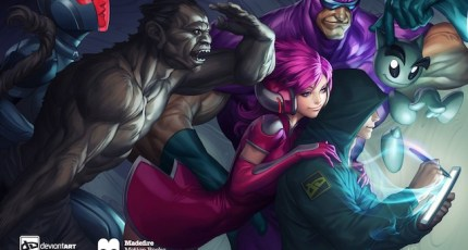 madefire partners with deviantart