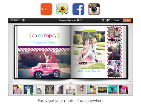 shutterfly debuts its own