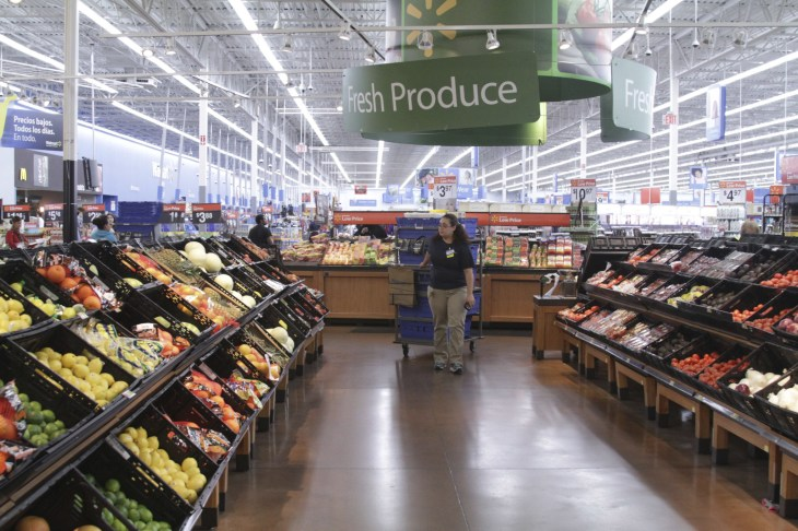 walmart expands online grocery