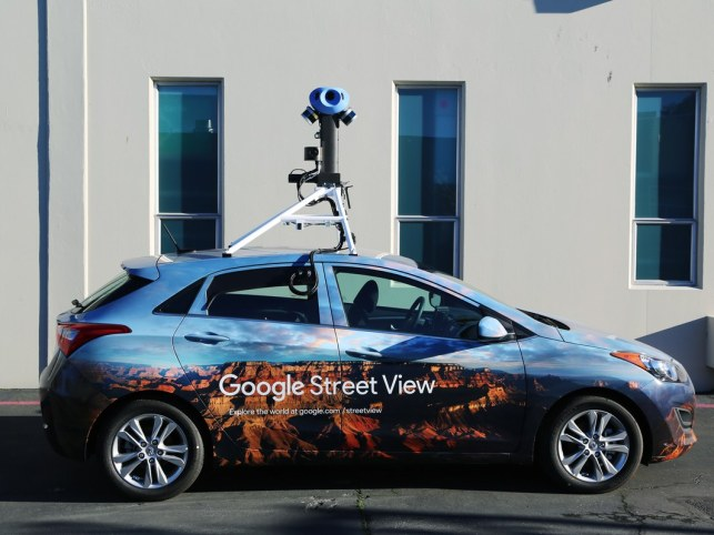 Google StreetView cars to help map pollution in London
