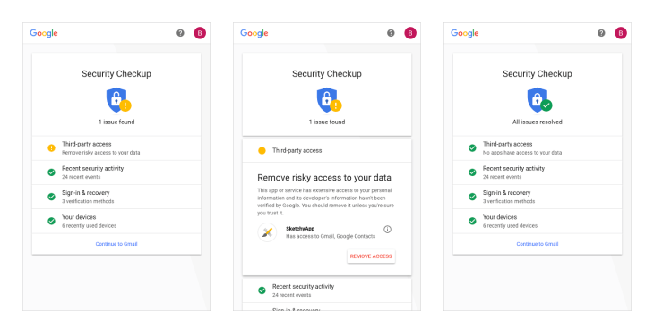 google revamps its security