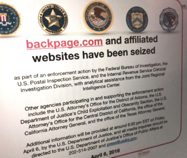 Backpage Pleads Guilty To Sex Trafficking Ceo Faces Up To 5 Years For Money Laundering Techcrunch