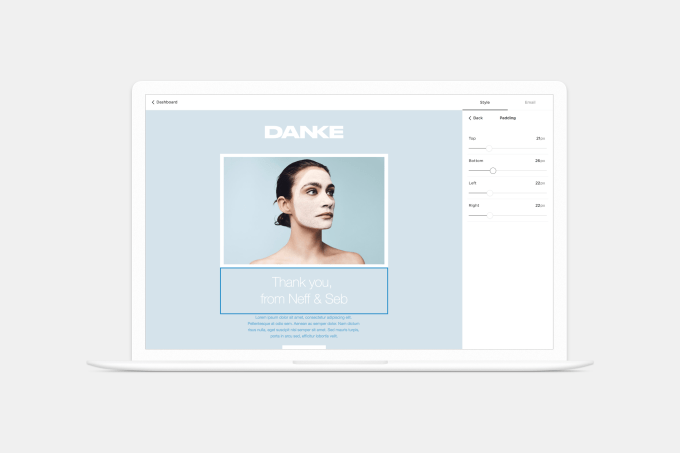 Squarespace Email Editor