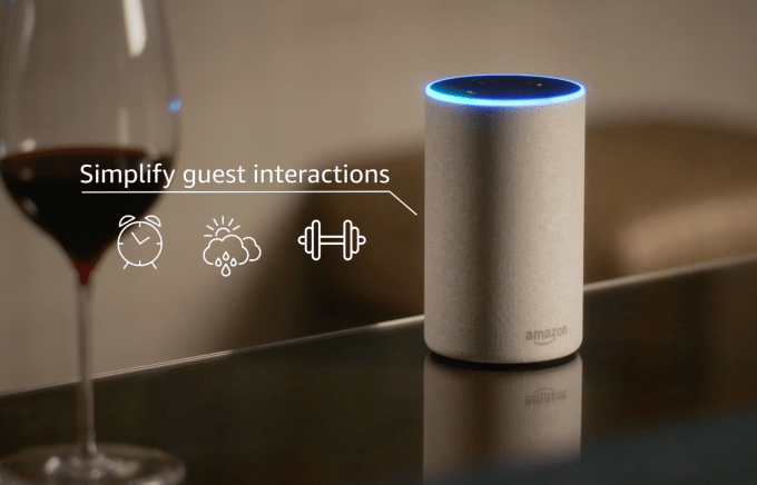 Amazon Launches An Alexa System For Hotels Techcrunch