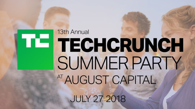 More tickets available to the TechCrunch Summer Party at August Capital