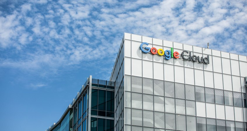 Google Cloud Buildings in Silicon Valley
