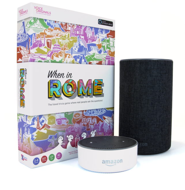 When In Rome is the first Alexa-powered board game