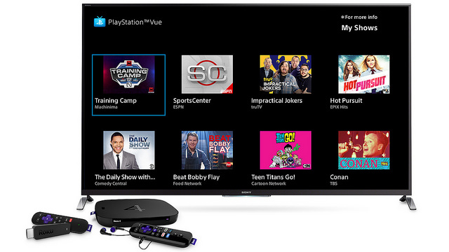 Sony S Streaming Tv Service Playstation Vue Raises Its