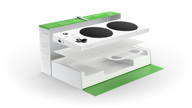 The Xbox Adaptive Controller goes on sale today and is also now part of the V&A museum's collection
