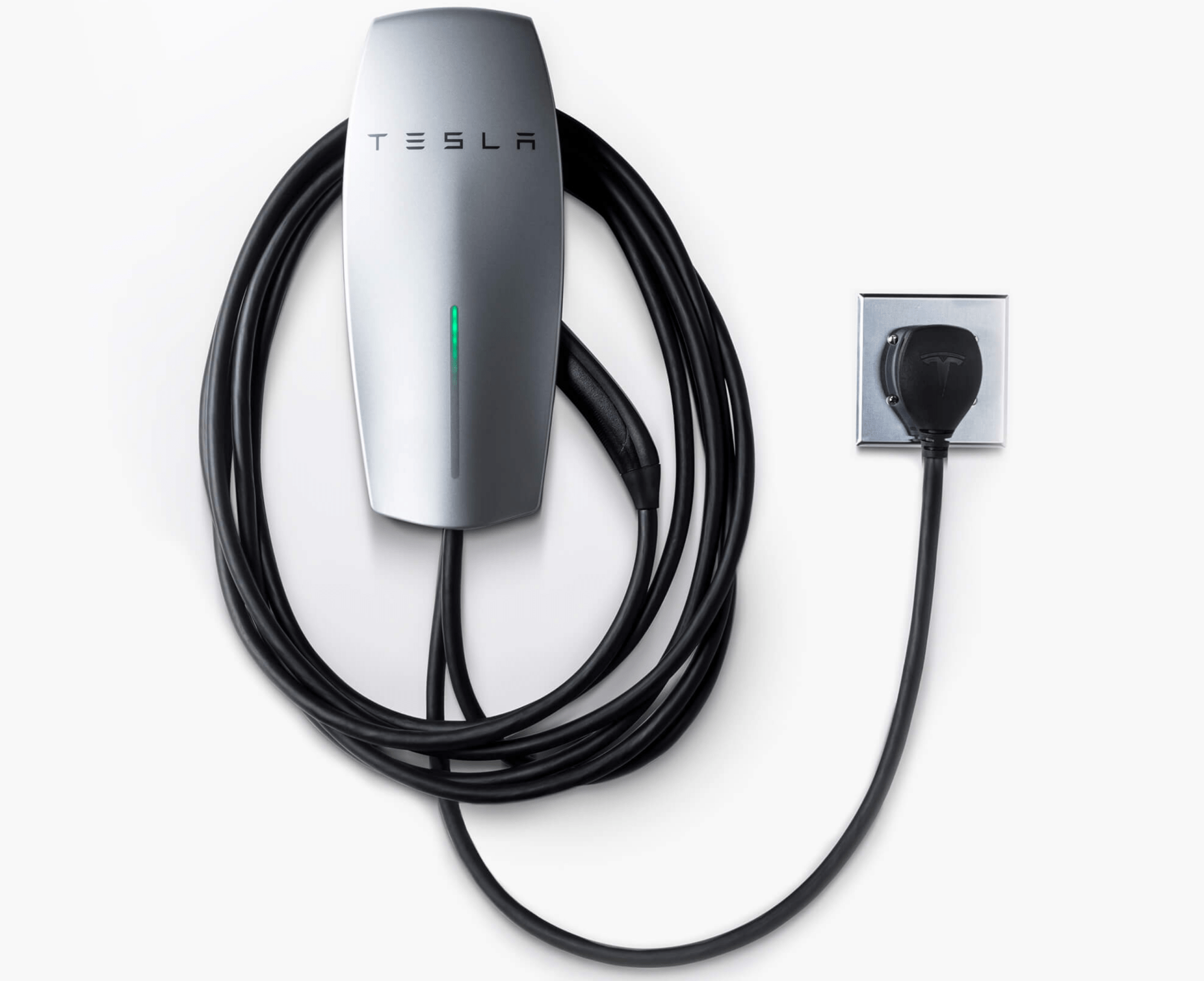 hight resolution of tesla unveils first home charging station that can be plugged into a wall outlet techcrunch