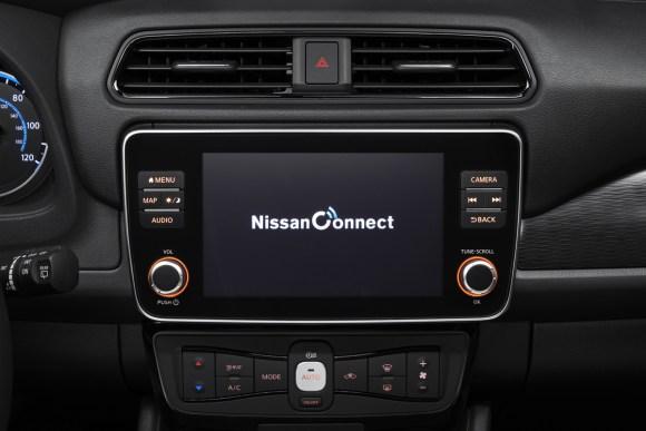 Nissan Leaf e+ interior