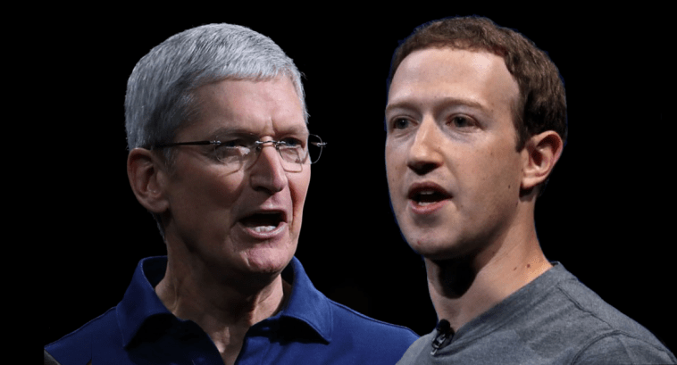 Cook and Zuckerberg – feud