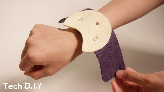 Tech DIY's Nightlight Cat Bracelet project