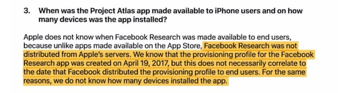 Facebook collected device data on 187,000 users using banned snooping app