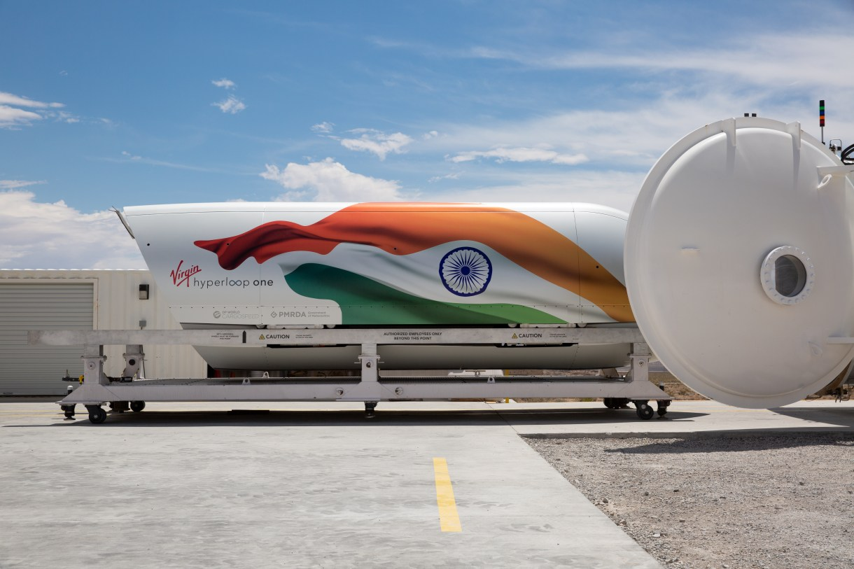 Virgin Hyperloop IndiaPod - India has labeled hyperloop a public infrastructure project -- here's why that issues