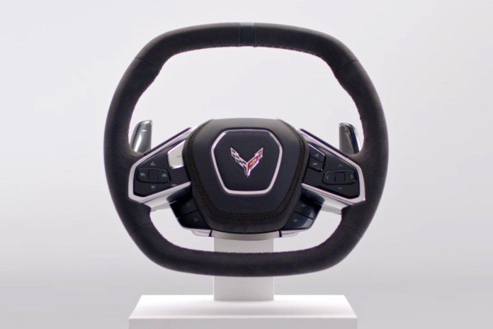 corvette eighth gen steering wheel