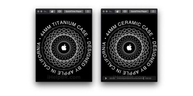 apple watch titanium ceramci