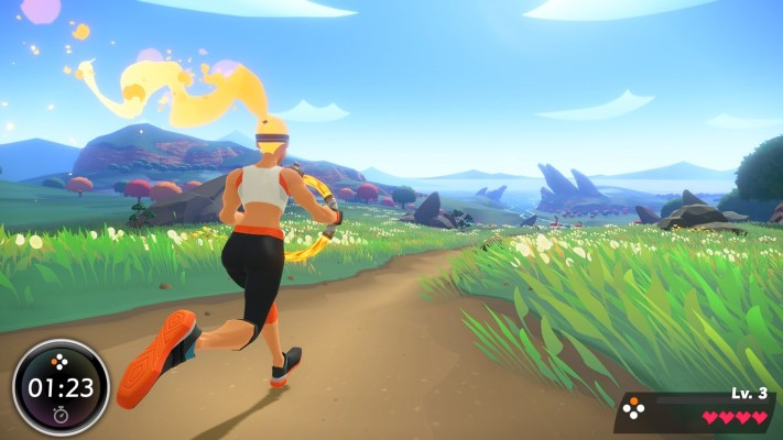 Nintendo Shows Off Exercise Powered Rpg For Switch Ring