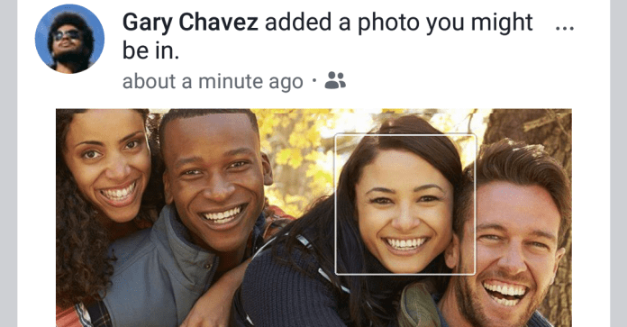 fb facial recognition photo overview