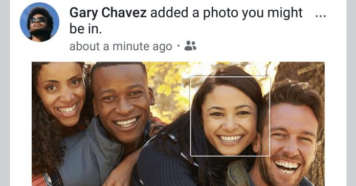 facebook facial recognition photo review