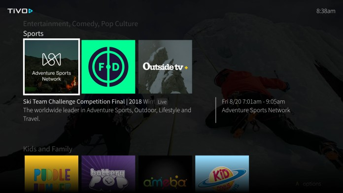 TiVo's ad-supported streaming service, TiVo Plus, launches at the moment