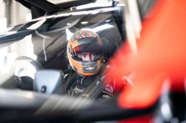 McLaren Senna GTR driver