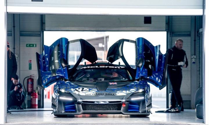 McLaren Senna GTR doors