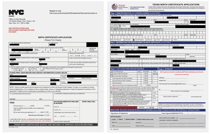 Más de 750,000 solicitudes de copias de certificados de nacimiento de EE. UU. Expuestas en línea - TechCrunch 10