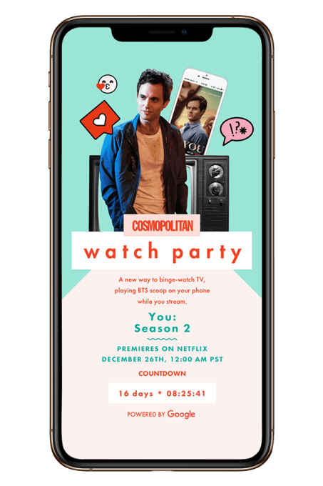 Cosmo Watch Party