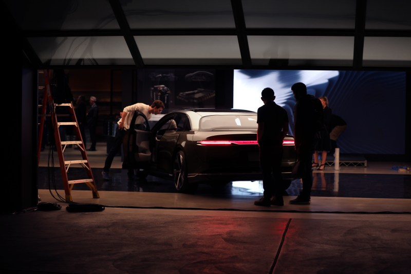 Lucid Air production reveal