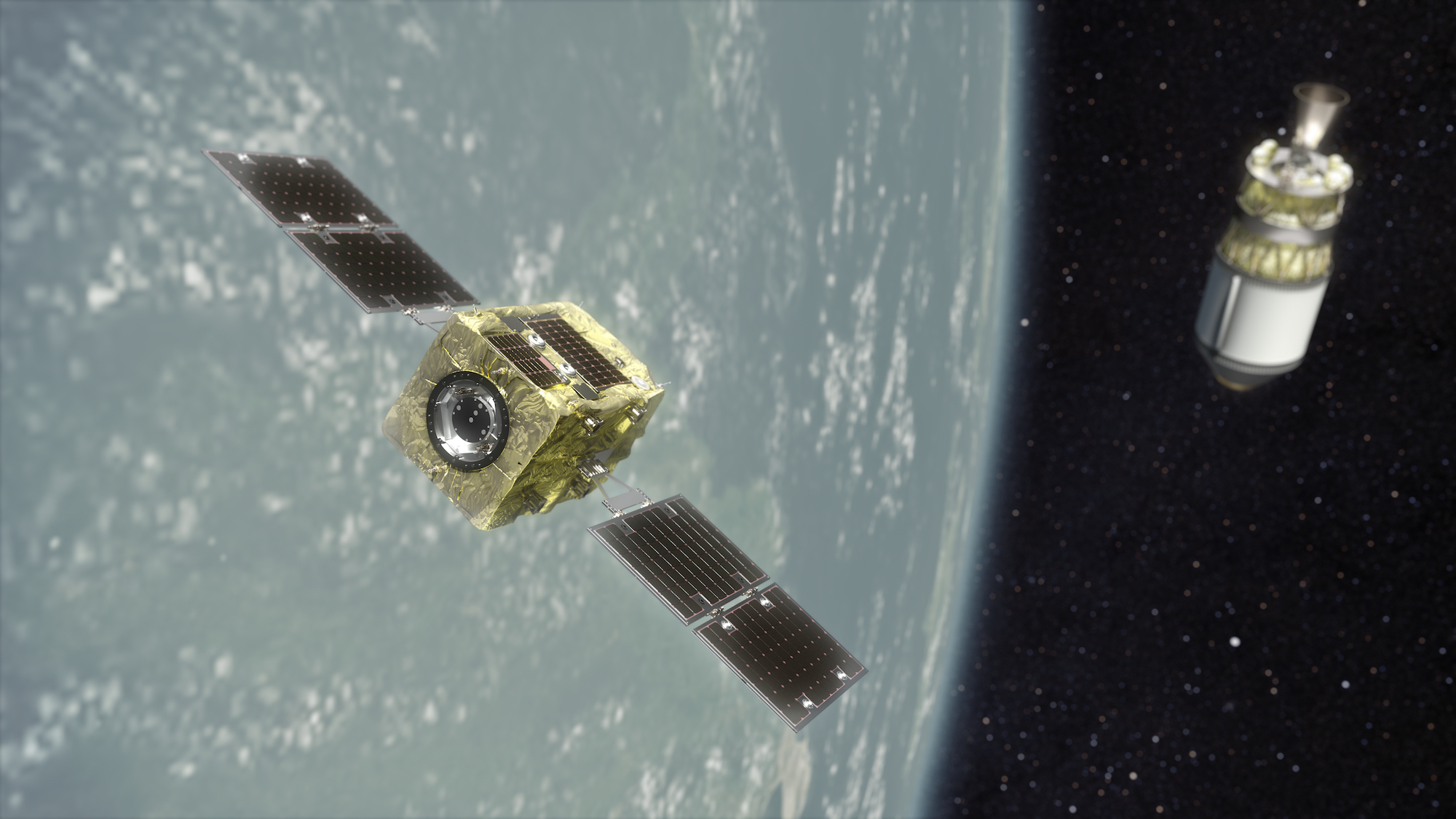 Orbital debris startup Astroscale chosen by JAXA for its first space junk removal mission
